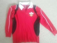 WALES: Rugby Top Age 7-8 Years