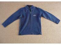 Mens Weird Fish Cruiser Classic 1/4 Zip Macaroni Long Sleeved Sweatshirt Jumper Pull Over Top Medium
