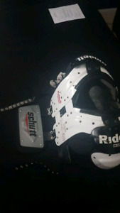 Football Shoulder pads and backplate