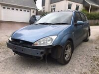FORD FOCUS 1.6 FOR PARTS - BREAKING