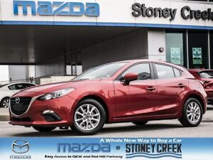 2014 Mazda MAZDA3 SPORT GS 6 SPEED,0.65% FIN, LOW KMS, ACC FREE,