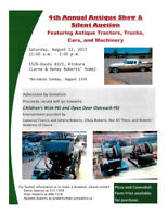 4th Annual Antique Show and Silent Auction