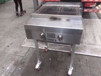 GAS CATERING CHAR COMMERCIAL GRILL MACHINE KITCHEN TAKEAWAY RESTAURANT CAFE SHOP DINER BBQ OUTDOORS