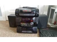 Panasonic SA-AK 40 CD stereo system