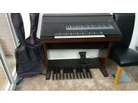 Yamaha Electone digital piano & stool