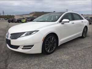 2015 Lincoln MKZ CARPROOF CLEAN/NAV/HEATED-AC SEATS/MOONROOF