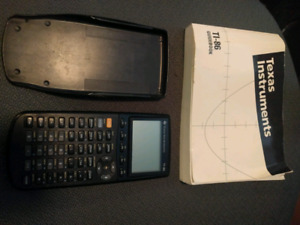 Ti-86 graphing calculator