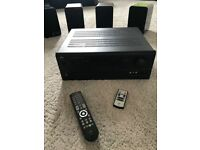 Nad HDMI 7.1 A/V amp and Q Acoustics speakers