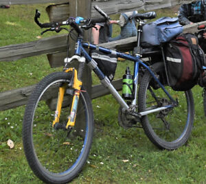 Mountain Bike stolen and left if the woods, did you find it?