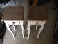 Bedside tables to be sold as a pair