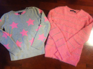 Sweaters size 10/12 The Gap, etc