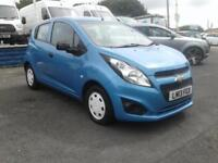 2013/13 Chevrolet Spark 1.0 LX 5 DOOR 1 YEAR MOT £30 TAX 3 OWNERS