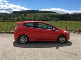 63 Red Ford Fiesta 1.0