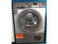 N377 graphite hotpoint 8kg B rated condenser dryer new with manufacturers warranty can be delivered