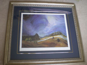 """Emily Carr-"""" Above the Gravel Pit - 1937 """"-Limited Edition Print"""