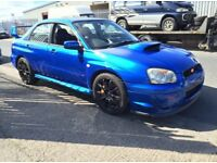 Subaru Impreza Wrx STI V8 Twin Scroll jdm