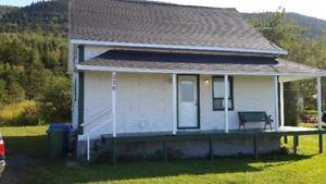 Maison centenaire en Gaspésie