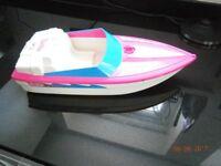 Vintage Barbie Speed Boat