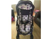 Girls travel system perfect condition.