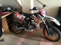 Ktm 85 over a Grand in performance parts come attched. Very fast&clean