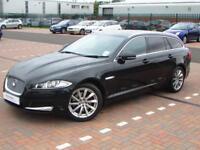 Jaguar XF D V6 PREMIUM LUXURY SPORTBRAKE (black) 2013-05-28