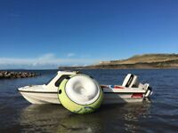 14ft Marina Waverunner fast fisher - fishing motor boat - *Complete package!*