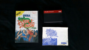 Double Dragon For Sega Master System - Complete