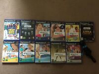 Playstation 2 Singstar Games (Incl. Microphone)
