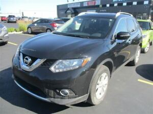 2014 Nissan Rogue SV AWD! PANORAMIC SUNROOF! $72/WK, 4.74% ZERO