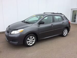 2011 Toyota Matrix AWD Economic AWD utility an LOW kms