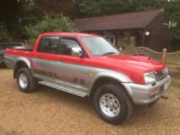 Mitsubishi l200 animal double cab 4x4 pickup truck