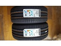 2x brand new contisportcontact 5 mo 225/45 R 17 91 Y FR tyres