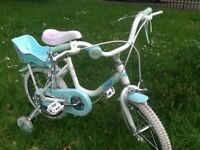 "Kids Bike - Girls ""Me To You"" bike with stabilisers 14"""