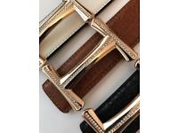 H with Diamonds Belts For Men and Women