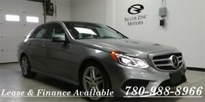 2014 Mercedes E550 4matic, Navi, BSM, Keyless, Factory warranty.
