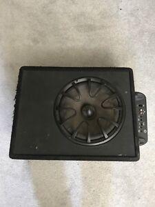 12 inch sub with 300 watt amp
