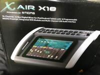 Behringer x18 digital mixer / Audio interface