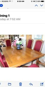 Dining Room Set and Buffet/Hutch