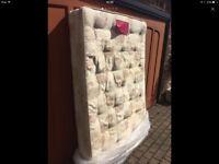 4ft6 Silent Sleep double mattress.