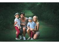 Family - child - couple - pet - Portrait photographer from £200