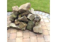Stones for rockery