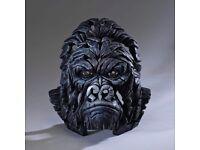 Edge Sculptures: Gorilla and Bengal Tiger