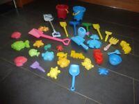 Large Bundle of sandpit toys