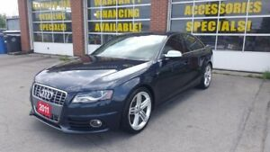 2011 Audi S4 NAVI, Bluetooth, Lane Assist, Back up Cam, AWD