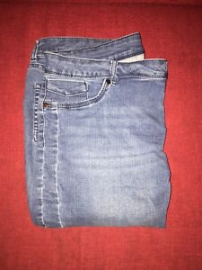 Two pairs of jean capris