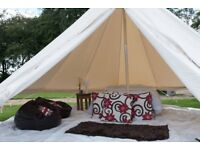 Bell tent for sale 4 metre