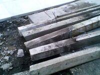 concrete garden post free