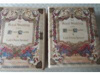 Royal Wedding stamp albums x2