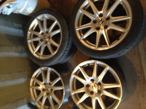 Roues mag pour s2000 2008