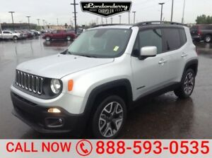 2015 Jeep Renegade 4WD NORTH Heated Seats,  Back-up Cam,  Blueto